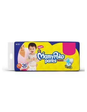 MamyPoko Standard  (India) Pants Diaper Pant 12-17 kg (XL)/26 pcs