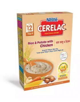 Nestlé Cerelac 4 Rice & Potato With Chicken (12 months+) BIB - 400 gm