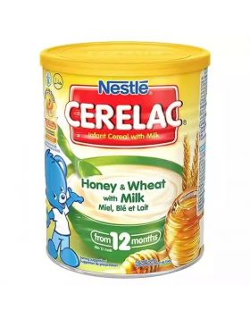 Nestlé Cerelac Honey & Wheat With Milk (12 months +) Tin - 400 gm