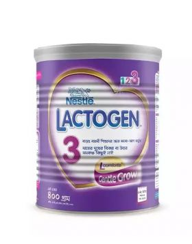 Nestlé LACTOGEN 3 Follow Up Formula (12 Month+) TIN - 400 gm