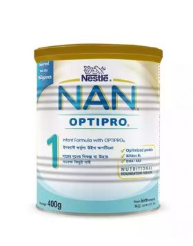 Nestlé NAN 1 Follow Up Formula With Optipro TIN - 400 gm