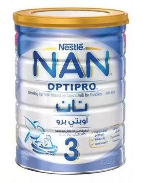 Nestlé NAN 3 Follow Up Formula With Optipro TIN - 800 gm