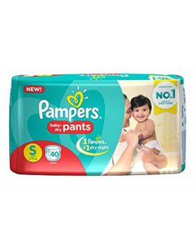 Pampers (India) Baby Dry Pants Diaper: 4-8 Kg / 40 pcs