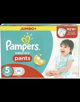 Pampers (UK) Baby Dry Pants Diaper: 12-17 Kg / 60 pcs