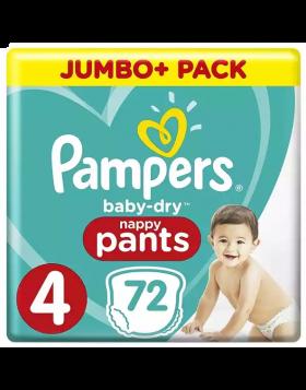 Pampers (UK) Baby Dry Pants Diaper: 9-15 Kg / 72 pcs