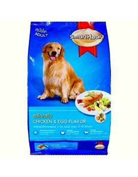 SmartHeart Adult Dog Food Chicken & Egg Flavor