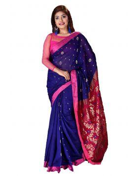 Maslaice Cotton Sari || TCB377