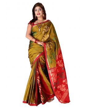 Maslaice Cotton Sari || TCB378