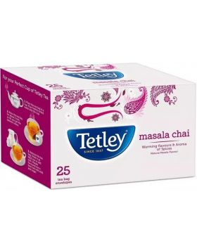 Tetley Masala Chai Tea Bag 25 pcs