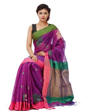 Tangail Half Silk Sari || THP644