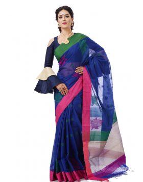 Tangail Half Silk Sari || THP665