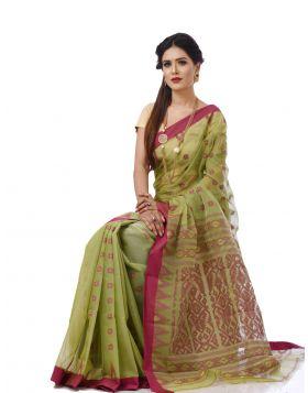 Tangail Half Silk Sari || THP682