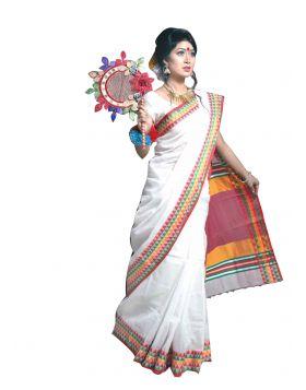 Cotton Sari    TMB221