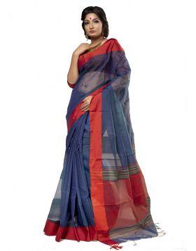 টাঙ্গাইল হাফ সিল্ক শাড়ি ।। TMT1036