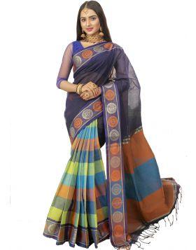 টাঙ্গাইল সুতি শাড়ি ।। TMT1098