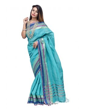 Cotton sari || TNJ355