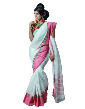 Cotton sari    TNJ372