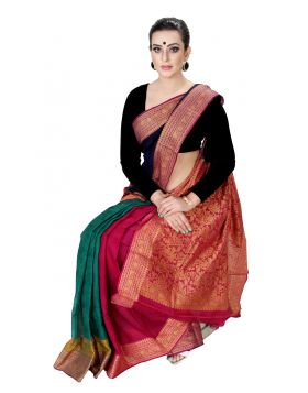 Half Silk Sari || TNN153