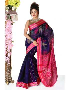 Half Silk Sari || TSD352