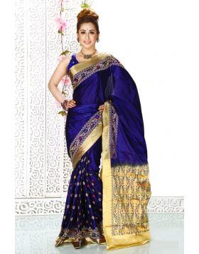 Rajshahi Silk Sari || TSD357