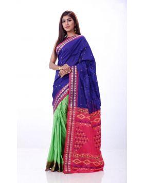 Half Silk Sari || TSD358