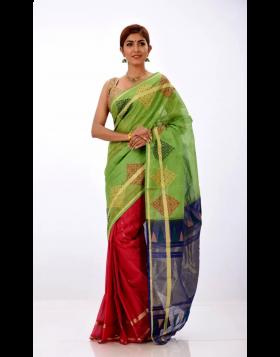 Half Silk Sari || TSD360