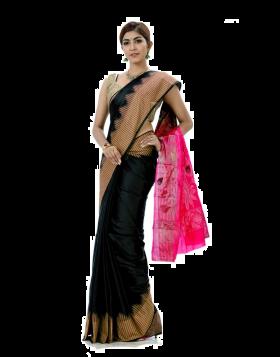 Rajshahi Silk Sari || TSD362