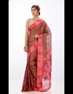 Half Silk Sari || TSD363