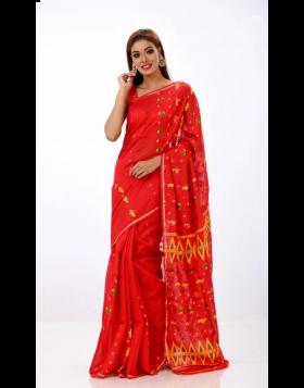 Jute Silk Sari || TSD366