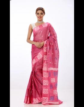 Half Silk Sari || TSD368