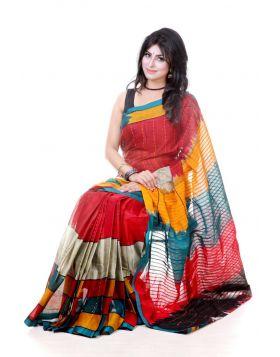 Maslice Cotton Sari || TSR610
