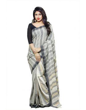 Khadi Cotton Sari || TSR651