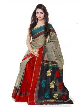 Maslice Cotton Sari    TSR663