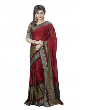 Maslice Cotton Sari || TSR717