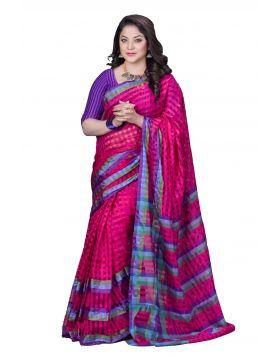 Half Silk Sari || TSR732