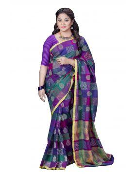 Maslice Cotton Sari || TSR733