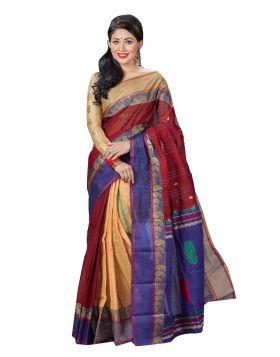 Maslice Cotton Sari || TSR757