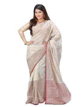 Khadi Cotton Sari || TSR792